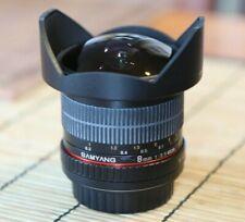 Samyang f/3, 5 8mm UMC CS II fish-EAE filtro de polarización para canon