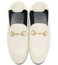 b937d420c5f GUCCI Brixton horsebit-detailed leather collapsible-heel loafers size 39.5  (7)