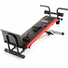 Weider Ultimate Body Works HOME GYM Incline Adjustable WORKOUT BENCH New