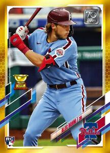 2021 Topps MLB ALEC BOHM Rookie RC - Digital NFT Card - Gold Mint #380/881 RARE!