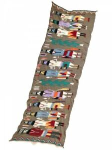Kapital Milling Wool Scarf Motif of Navajo God Yei 2 Colors Fast Shipping Japan