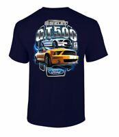 Ford Shelby G.T. 500 Car Tee Shirt Adult Men's Short Sleeve Black