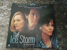 The Ice Storm Widescreen Laserdisc - Sigourney Weaver, Kevin Kline