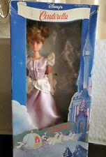 Vintage Cinderella 11 1/2 Inch Fully Jointed Barbie Doll in box.