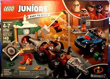 Lego Juniors - 10760 - The Incredibles Underminer Bank Heist -Free Shipping