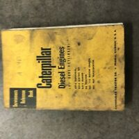 """CAT CATERPILLAR DIESEL ENGINE SERVICEMEN'S REFERENCE BOOK MANUAL 4 CYL 4 1/2"""""""