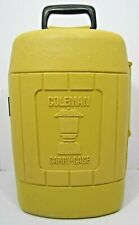 Vintage Coleman Lantern Yellow Carrying Case 10/77 – Pristine Condition