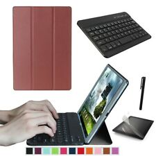 Smart Case Cover And Bluetooth Keyboard For Huawei MediaPad T3 10 9.6'' Tablet