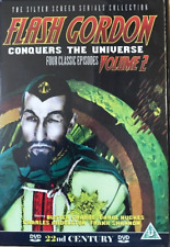 Flash Gordon Conquers The Universe Volume 2 DVD | Buster Crabbe & Carol Hughes