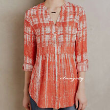 NEW sz 0 8 Anthropologie Calia Tunic by Maeve Adorable Versatile Pretty Color