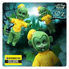 6 Mezco Living Dead Wizard Of Oz Monkeys Munchkins Entertainment Earth Exclusive