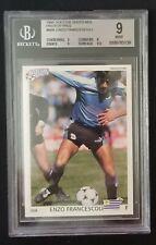 New listing 1991 Soccer Shots MSL Prototypes #00A Enzo Francescoli BGS 9 Mint