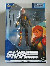 "G.I. JOE Classified Series Scarlett 6"" Figure 2020 GI Joe HASBRO"