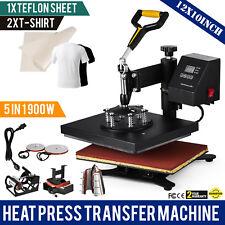 12X10 6IN1 Multifonctionnel Hot Press/Presse à chaud presse à chaud t-shirt