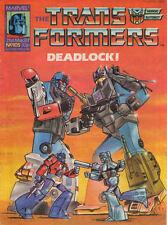 TRANSFORMERS #105 - 1987 - Marvel Comics Group UK