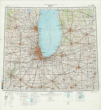 Russian Soviet Military Topographic Maps  - sheet CHICAGO, 1:1 000 000, ed.1991