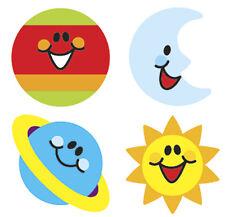 800 ciel sourires supershapes Professeur Récompense École stickers