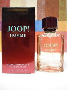 JOOP! HOMME MILD DEODORANT  2.5 OZ / 75 ML SPRAY