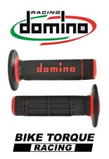 TM 450 MX/Enduro 4 Stroke Domino Diamond Waffle Grips Black / Red