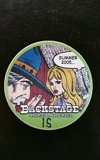 Bob Dylan Backstage Pass 2005 Round Green Chicago Last One In Stock!