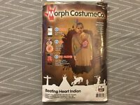 Morphsuits Beating Heart Indian Adult Mens Digital Halloween Party Costume, M