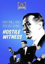 Hostile Witness 1968 (DVD) Ray Milland, Sylvia Syms, Felix Aylmer - New!
