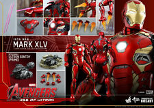 DHL 5DAYS HOT TOYS 1/6 MARVEL AVENGERS MMS300D11 IRON MAN MK45 MARK XLV ACTION