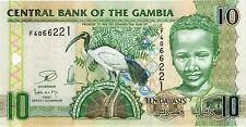 Gambia 10 Dalasis (2013) Pick 26c UNC
