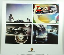 Porsche 911 Carrera Cabriolet Turbo Coupe 1984-1987 Car Photo Print Poster