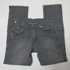 Levi 514 Slim Jeans 29x30 (measures 28x28.5) Brushed Gray Straight Leg