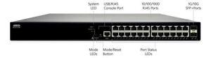 Adtran 17108124PF2 Netvanta 1560-24-740W Gig Switch - 24 10/100/1000Base-T Ports