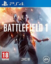 Battlefield 1 PS4 (Sony PlayStation 4, 2016) (Brand New & Sealed)
