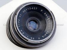 @RARE@ Angenieux Paris 35mm f/3.5 35/3.5 Type X1 Leica Screw Mount LTM L39