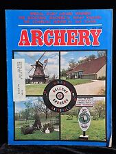 VINTAGE COLLECTIBLE Archery Magazine JUNE 1976 Archery & Hunting