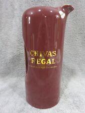 Chivas Regal Whiskey Scotch Whisky Ceramic Pitcher Mug Barware pottery