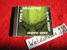 Type O Negative - Slow Deep and Hard, RO9313 2, Roadracer Cd 1991