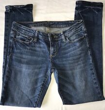 Bullhead Denim Women's Juniors Size 7S 28X28 Skinniest Stretch Blue Jeans