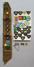 Brownies - Large Collection - Badges - sash + More - Vintage 1960's
