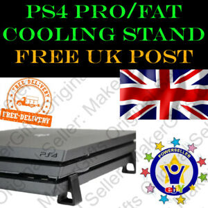 PS4 Pro Slim And Fat Foot Feet Stand Cooling Air Flow Ventilation Free Flow Legs
