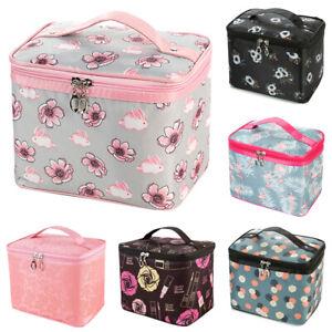 Ladies Wash Bag Toiletry Handbag Travel Case Cosmetic Beauty Make Up Storage Box