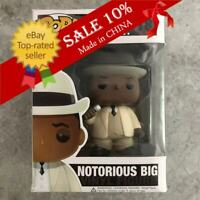 "Funko Pop!The Notorious B.I.G. - Notorious BIG #18 Rare Vaulted ""Mint""+Protector"