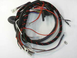 Norton main wire harness 54939968 Atlas 650 w magneto featherbed UK Made Cloth