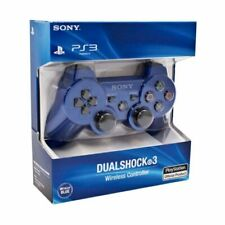 Sony PlayStation Original PS3 Dualshock 3 SixAxis Controller  Blue Sealed