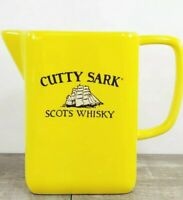 """Vintage Cutty Sark Scots Whisky Yellow Advertising 6"""" Cocktail Pitcher"""