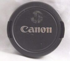 Canon snap-on E-58mm Front Lens Cap - Taiwan Genuine EOM worldwide