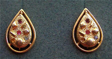 """SARA-ZADE"" Gold Tone Clip Earrings - Sarah Coventry Jewelry - Sara Cov - Vtg"