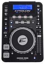 EPSILON CDUSB-7000  Tabletop DJ Scratch CD/MP3/USB Digital Turntable Player w/FX