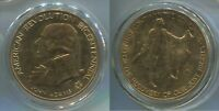 M004d American Revolution Bicentennial John Adams 1st Congress, medal in capsule