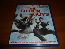 The Other Guys (Blu-ray Disc, Unrated 2010) Will Farrell Used Mark Wahlberg