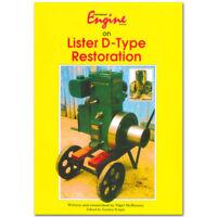 Stationary Engine Book - Lister D-Type Restoration